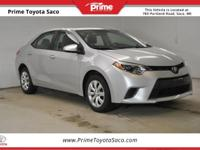 CARFAX One-Owner! Toyota Certified! With these sought