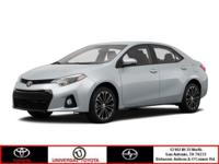 Come see this 2015 Toyota Corolla LE. Its Variable