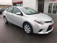 Options:  2015 Toyota Corolla Le|This 2015 Corolla Is