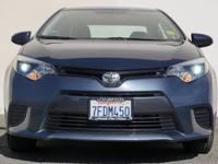 Options:  2015 Toyota Corolla Le 4Dr Sedan 4Evergreen