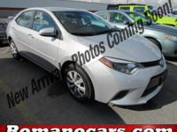 A 2015 toyota corolla with less than 5,000 miles on it!