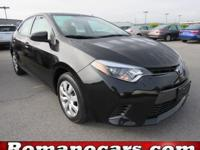 Step into the 2015 Toyota Corolla! A great car and a