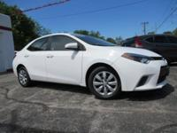 CARFAX One-Owner. Clean CARFAX. White 2015 Toyota