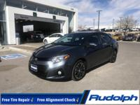 NEWLY LISTED, Corolla S, 4D Sedan, 1.8L I4 DOHC Dual