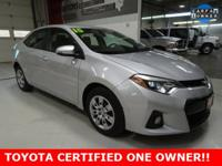 * TOYOTA CERTIFIED--ONE OWNER *, * LOCAL TRADE--BOUGHT