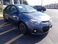 Safe and reliable, this Used 2015 Toyota Corolla L