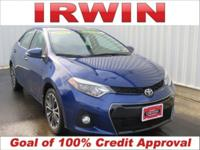 TOYOTA CERTIFIED! 4 NEW TIRES! SUNROOF/MOONROOF! LOW