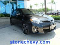 CARFAX One-Owner. Clean CARFAX. 2015 Toyota Corolla S