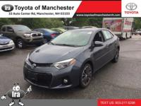 We are excited to offer this 2015 Toyota Corolla. This