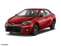 Options:  2015 Toyota Corolla S Plus|S Plus 4Dr Sedan