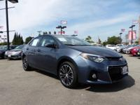 This 2015 Toyota Corolla S Plus has 24,388 miles!