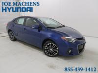 CARFAX One-Owner. Blue Crush Metallic 2015 Toyota