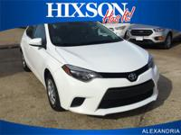 Check out this gently-used 2015 Toyota Corolla we