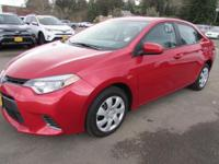 FUEL EFFICIENT 38 MPG Hwy/29 MPG City! LOW MILES -