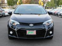 Options:  2015 Toyota Corolla S|Black/Black|V4 1.8L