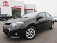 This 2015 Toyota Corolla comes equipped with back-up