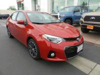 New Arrival! This 2015 Toyota Corolla S Plus, has a