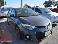 Come see this 2015 Toyota Corolla S Plus. Its