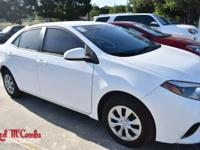 Check out this 2015 Toyota Corolla S. Its Variable