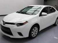2015 Toyota Corolla with 1.8L I4 Engine,Automatic