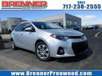Look at this 2015 Toyota Corolla L. Its Automatic