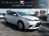 This 2015 Toyota Corolla will sell fast -Bluetooth