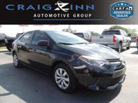 New Arrival! This Toyota Corolla is Certified Preowned!
