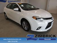 Options:  2015 Toyota Corolla 4Dr Sdn Cvt Le Plus