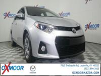 2015 Toyota Corolla S ABS brakes, Air Conditioning,