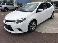 This 2015 Toyota Corolla is a real winner with features