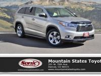 Look at this 2015 Toyota Highlander Limited Platinum.
