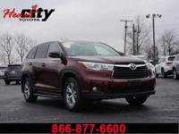 Toyota Certified!! Looking for the best family SUV out