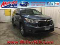 2015 Toyota Highlander XLE AWD 3.5L V6 ready and