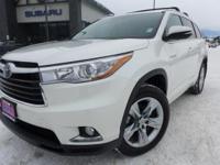 Options:  2015 Toyota Highlander Hybrid Limited