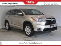CARFAX One-Owner! Toyota Certified! 2015 Toyota
