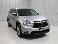 Options:  2015 Toyota Highlander Le V6|Silver/Ash|V6