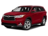 AWD! Burgundy 2015 Toyota Highlander LE V6 AWD 6-Speed