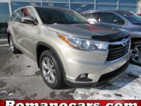 Outstanding design defines the 2015 Toyota Highlander!
