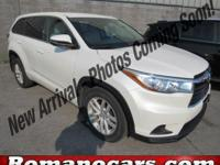 A 2015 toyota highlander with less than 30,000 miles on