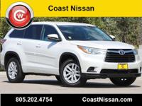 CARFAX One-Owner. 2015 Toyota Highlander LE FWD 6-Speed