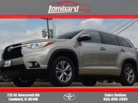 Options:  2015 Toyota Highlander Le Plus V6|Creme
