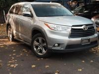 New Price! Certified. 2015 Toyota Highlander Limited