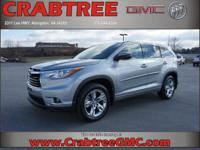 Options:  2015 Toyota Highlander Limited|Awd Limited