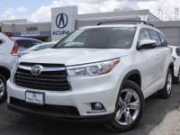 This very nice 2015 Toyota Highlander Limited is chock