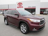Recent Arrival! New Price! 2015 Toyota Highlander