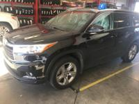 This outstanding example of a 2015 Toyota Highlander