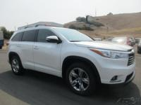 Options:  2015 Toyota Highlander Limited V6|3.5L V6