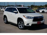 *** 2015 Toyota Highlander Limited *** CARFAX: 1-Owner,