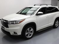 2015 Toyota Highlander with Leather Seats,Power Front