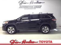 Options:  2015 Toyota Highlander Limited Platinum Only